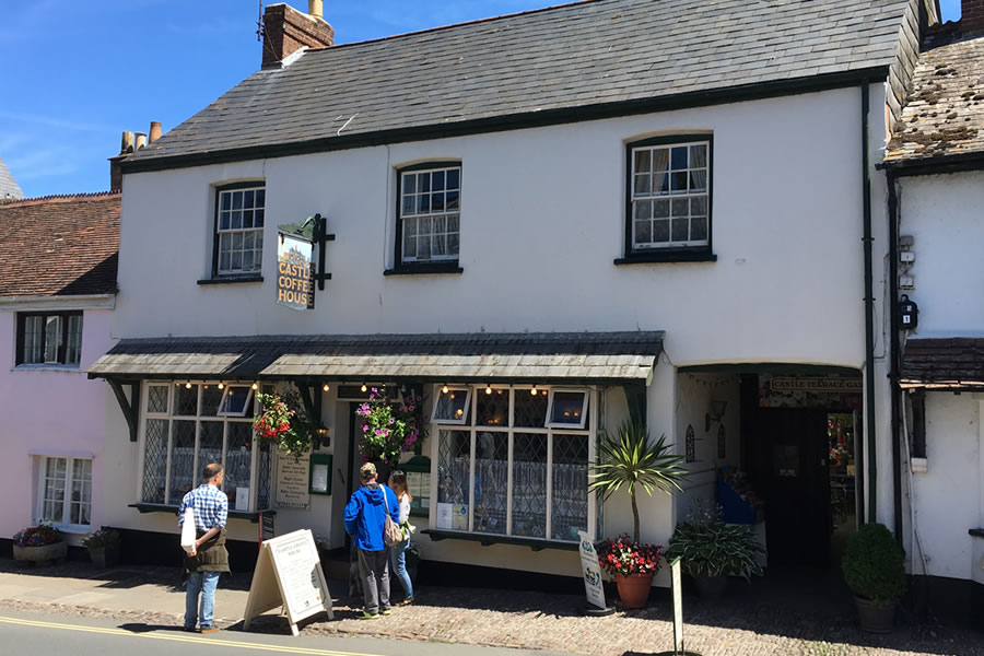 Castle Coffee Shop in Dunster Village